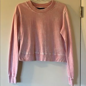 Vanilla Star Cropped Sweatshirt